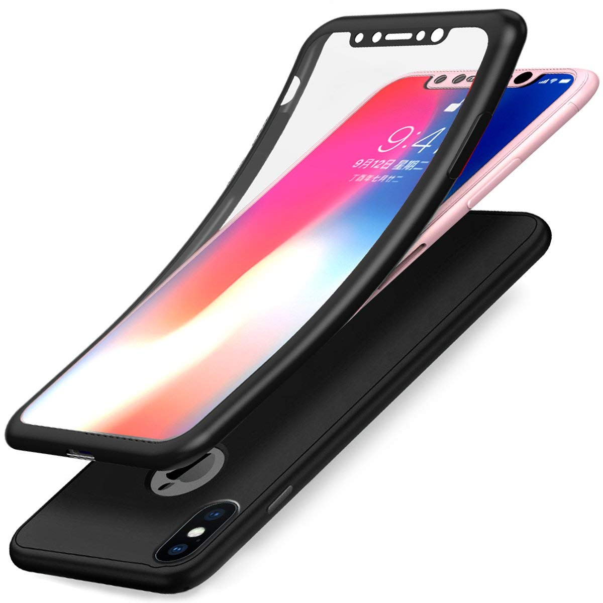 coque iphone xs verre trempe integrale