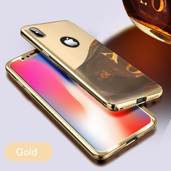 coque iphone 8 couleur or