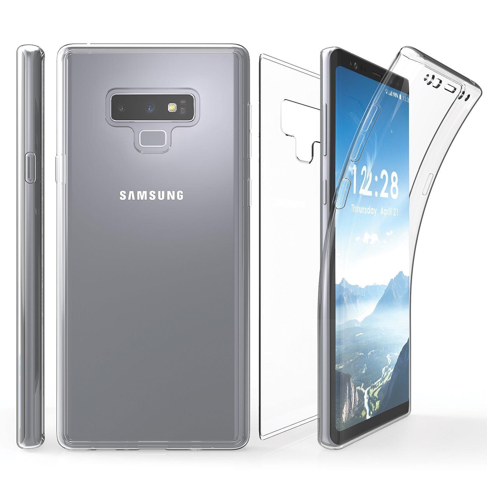 Coque Gel 360 Integrale pour Samsung Galaxy Note 9 [Résistant Aux Rayures]