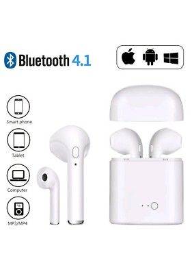 Écouteurs Bluetooth, Casque sans Fil Stéréo V4.2 avec Station de Charge pour iPhone, iPad, Samsung, Nexus, Huawei