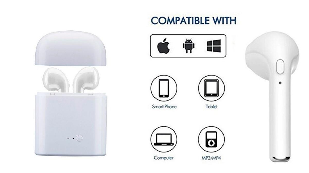 Écouteurs Sans Fil Bluetooth Casque Universel Compatible iPhone Samsung Huawei Sony Nexus Honor