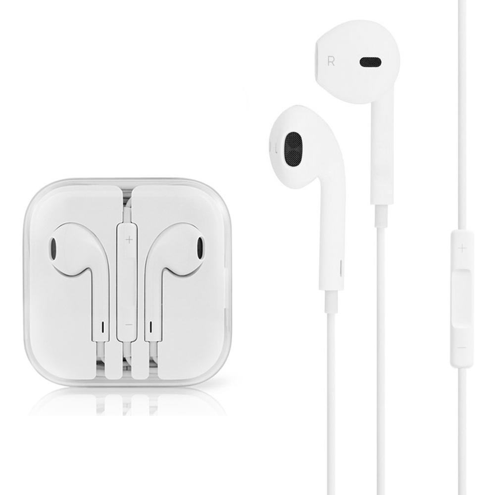 Écouteurs Intra-Auriculaires avec Micro, Casque stéréo Pour iPhone 5/5s/5c/6/6s/6Plus/6sPlus