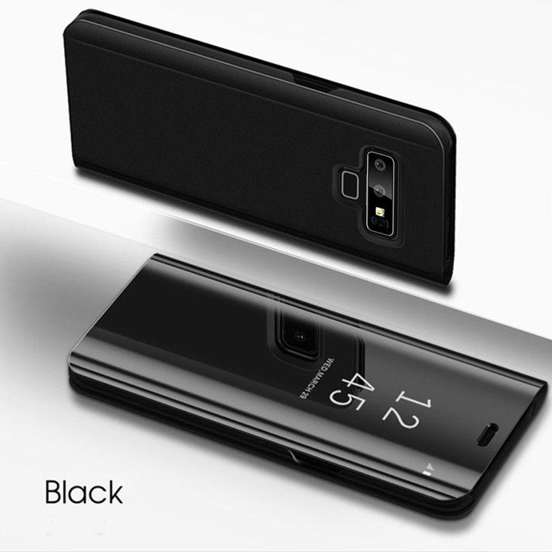 Coque Translucide Miroir pour Samsung Galaxy S10 Plus Couleur Noir