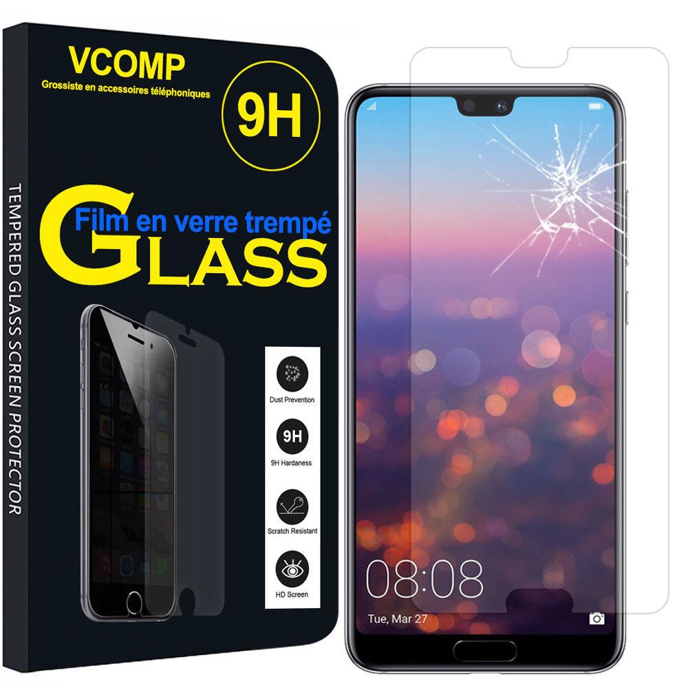 Verre trempé Huawei P20 Lite Couverture Complète Protection Ecran Protecteur d\'écran Ultra Résistant  Little Boutik®
