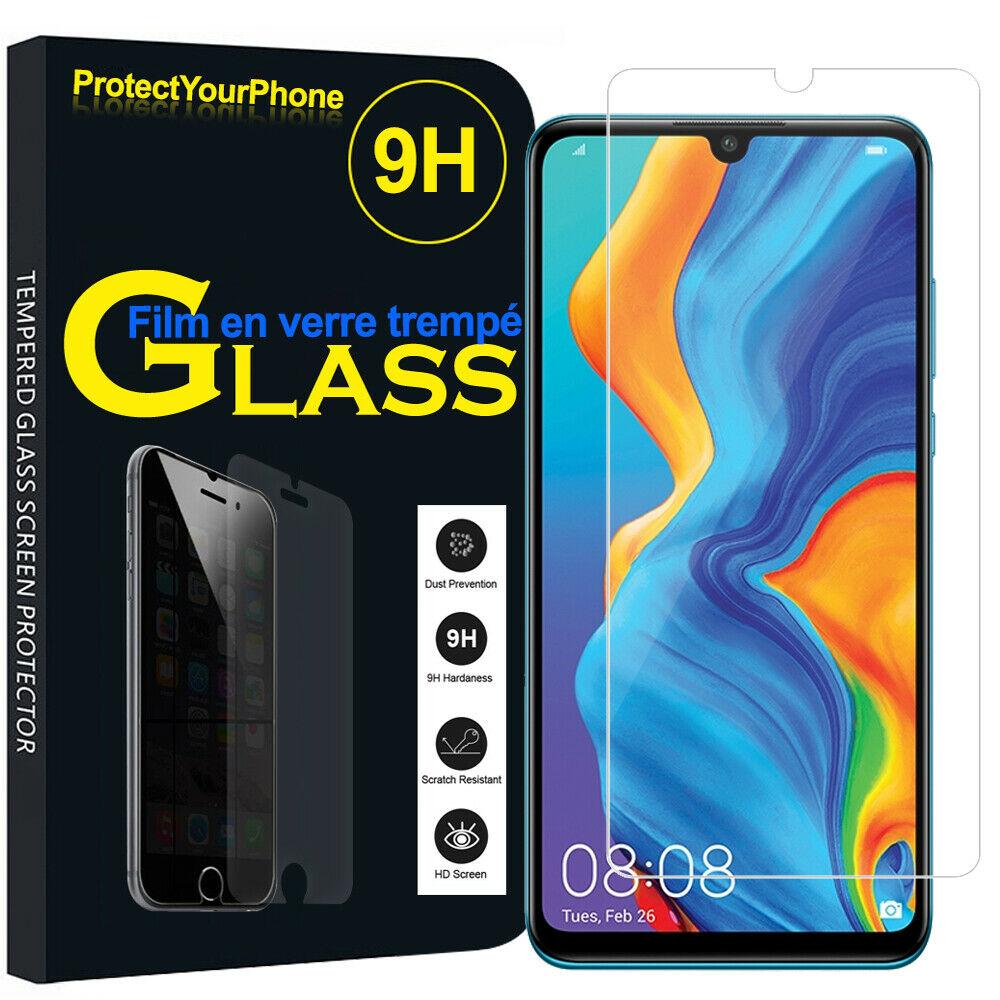 Verre trempé Huawei P30 Lite Couverture Complète Protection Ecran Protecteur d\'écran Ultra Résistant