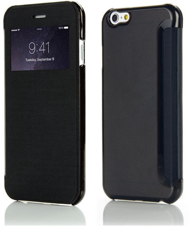 Coque iphone 5 5s se flip cover view etui housse ebay for Etui housse iphone 5