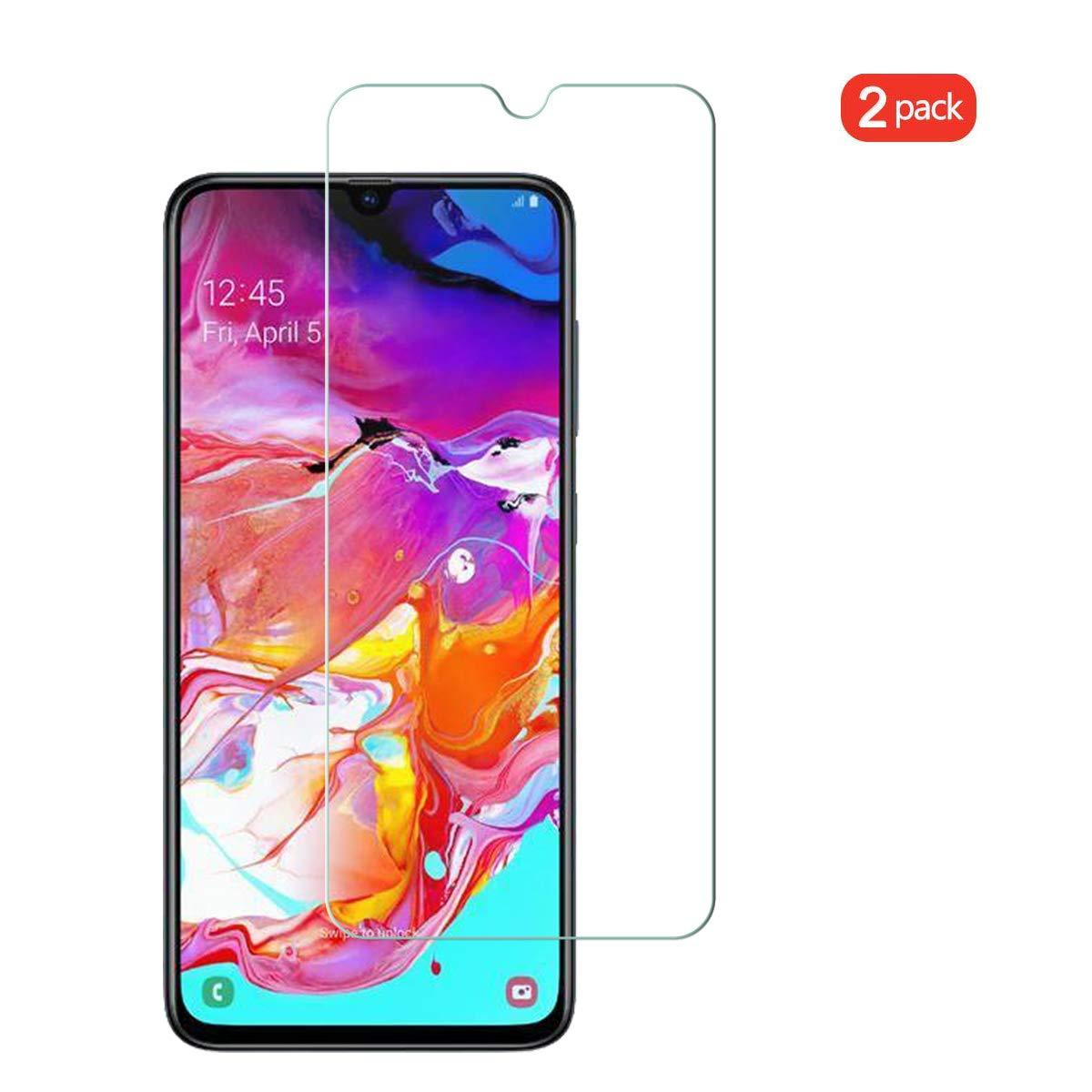 Film en Verre trempé Indice de dureté 9H Transparent Pour Samsung Galaxy A70 X2