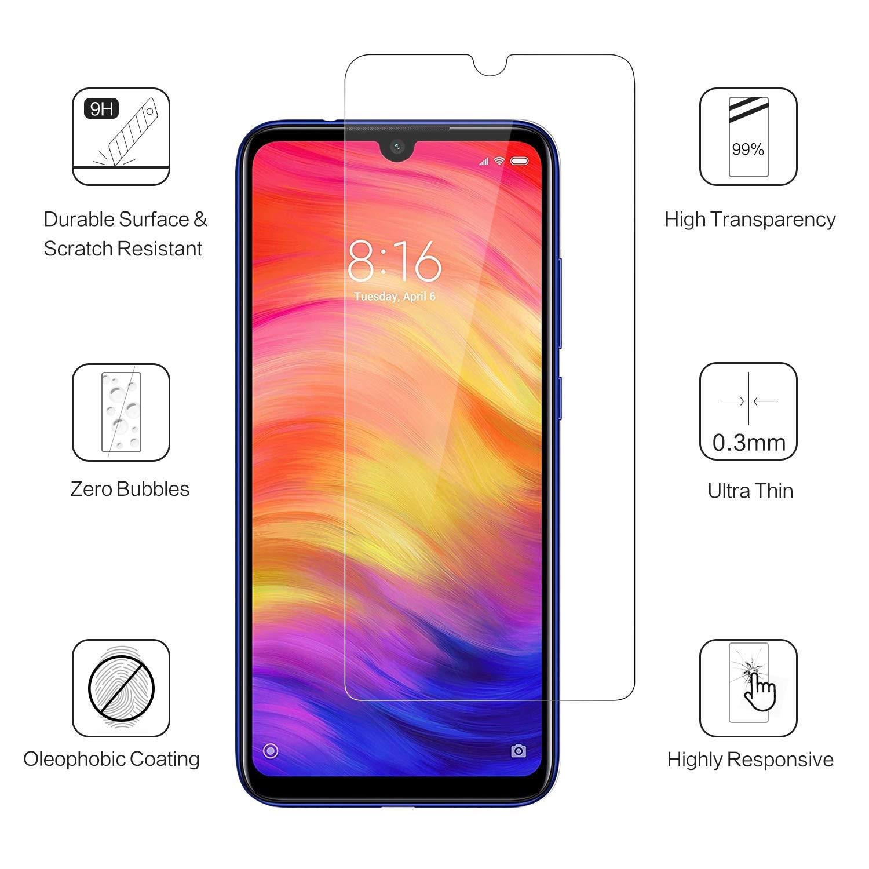 Film en Verre trempé Indice de dureté 9H Transparent Pour Xiaomi Red MI Note 7 Little Boutik®