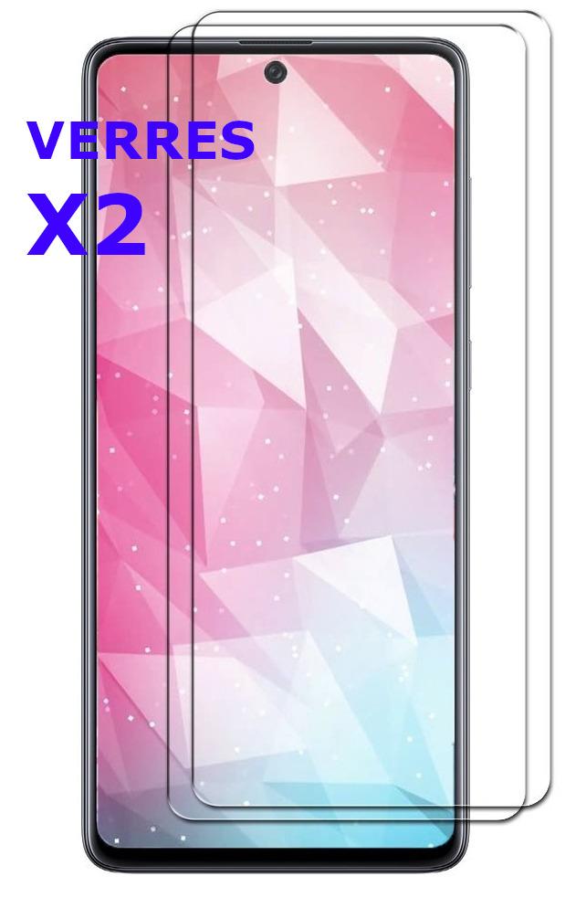 Verre Trempe pour Samsung Galaxy A51 Haute Résistance X2 - Little Boutik®