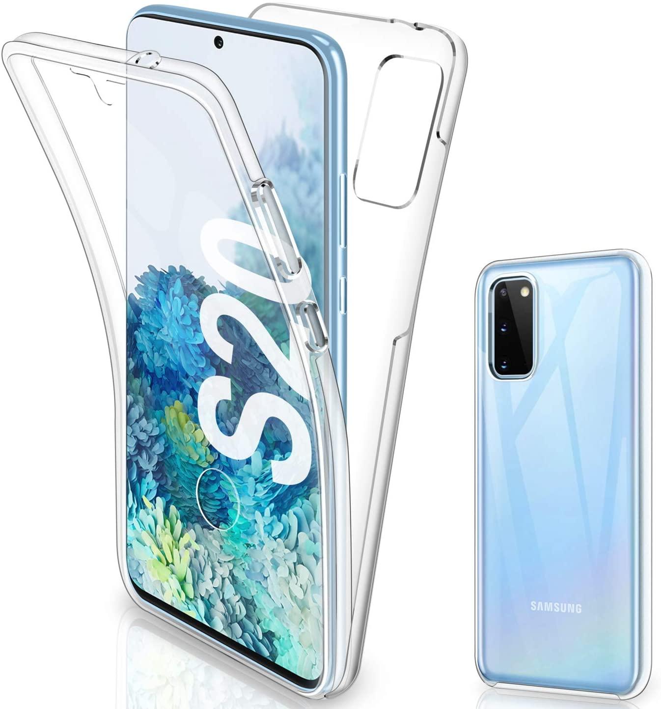 Coque Silicone 360 pour Samsung S20 Etui de Protection integrale Little Boutik®