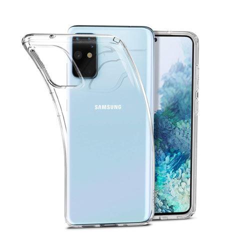 Coque Silicone pour Samsung S20 Plus Etui de Protection Transparent Antichoc Little Boutik®