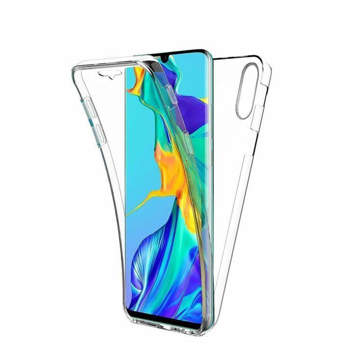 Coque Silicone 360 pour Huawei P30 Etui de Protection integrale Little Boutik®