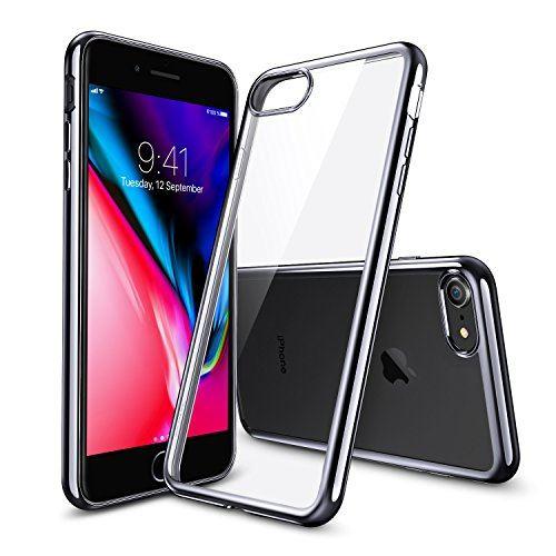 Coque Silicone pour iPhone 7 Plus / 8 Plus Etui de Protection Transparent Antichoc Little Boutik®