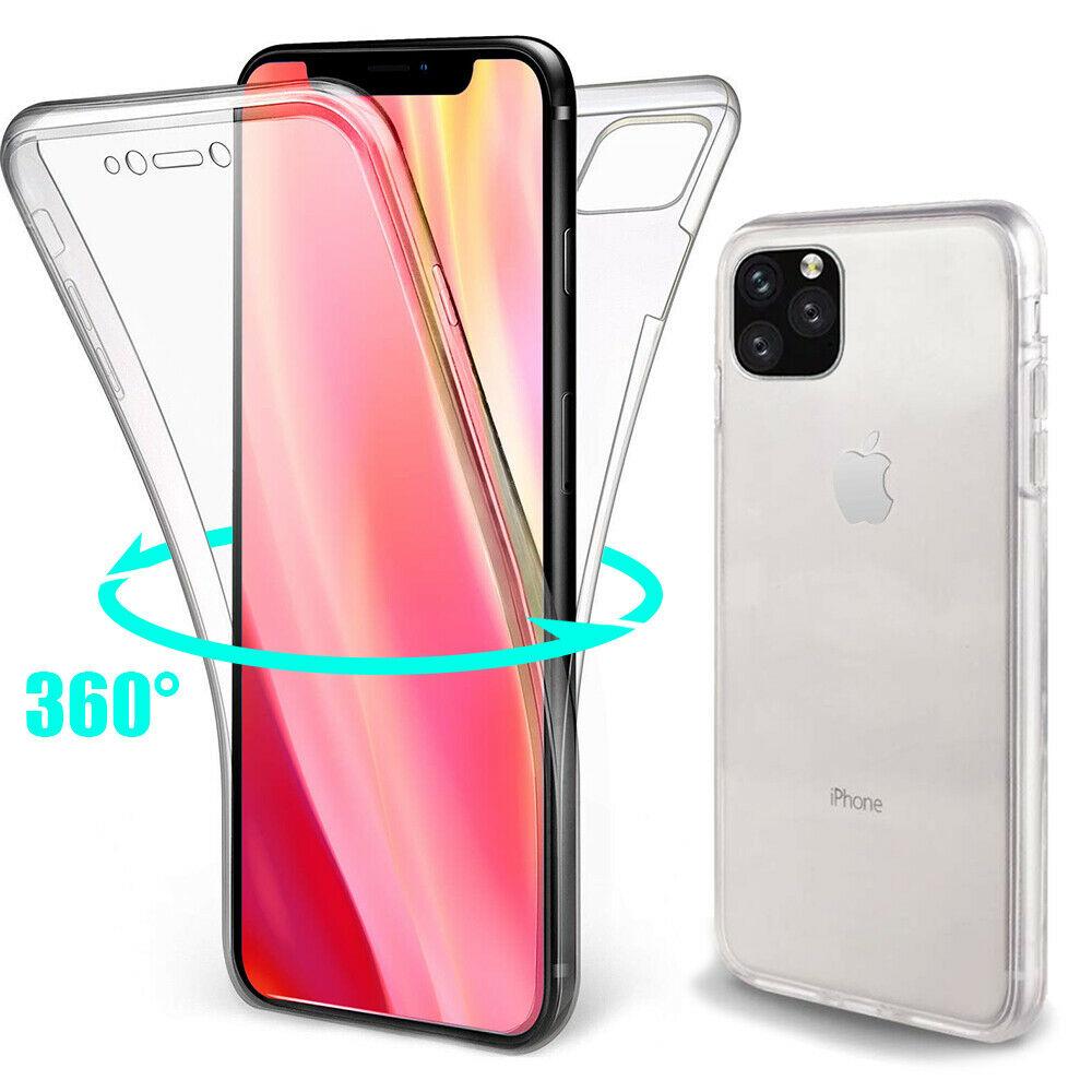 Coque Silicone 360 pour iPhone 11 Etui de Protection integrale Little Boutik®