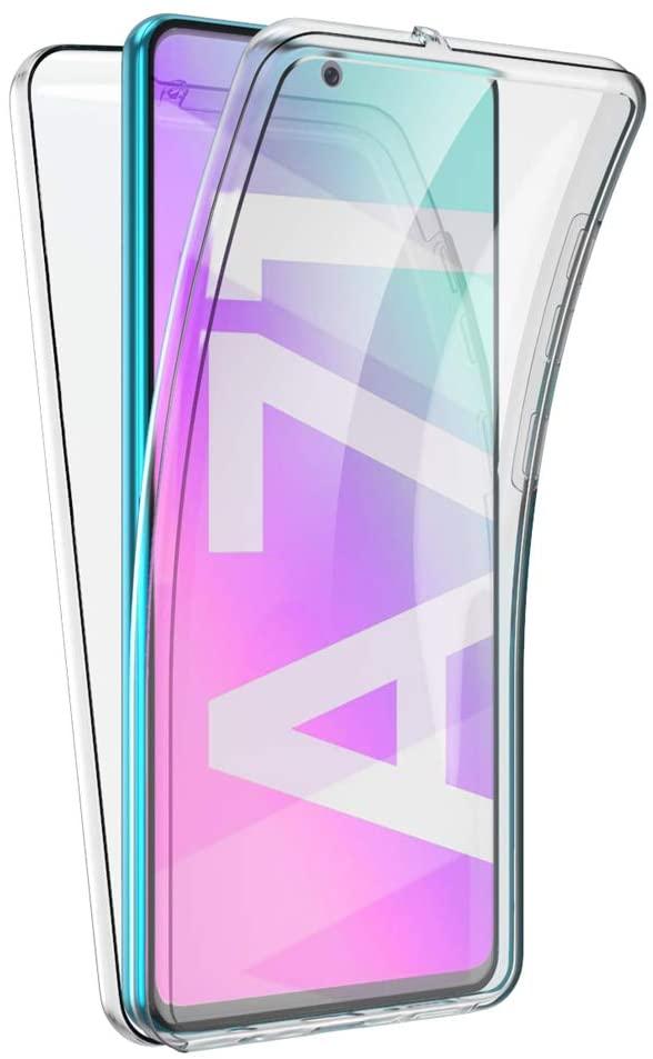 Coque Silicone 360 pour Samsung A71 Etui de Protection integrale Little Boutik®