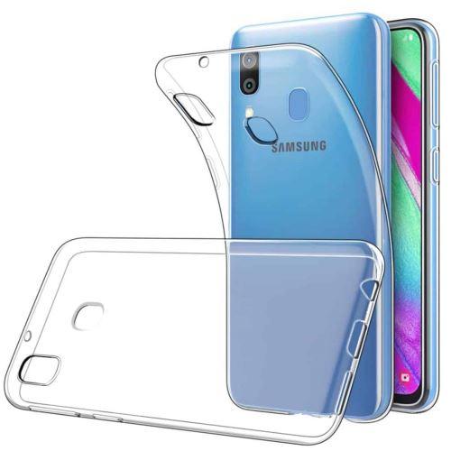 Coque Silicone pour Samsung A40 Etui de Protection Transparent Antichoc Little Boutik®