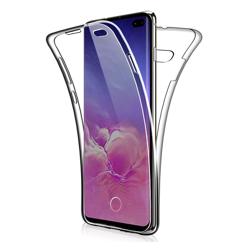 Coque Silicone 360 pour Samsung S10 Plus Etui de Protection integrale Little Boutik®