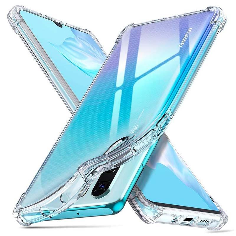 Coque Silicone pour Huawei P30 Pro Etui de Protection Transparent Antichoc Little Boutik®