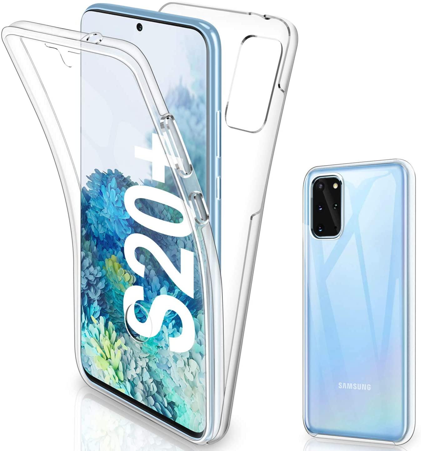 Coque Silicone 360 pour Samsung S20 Plus Etui de Protection integrale Little Boutik®