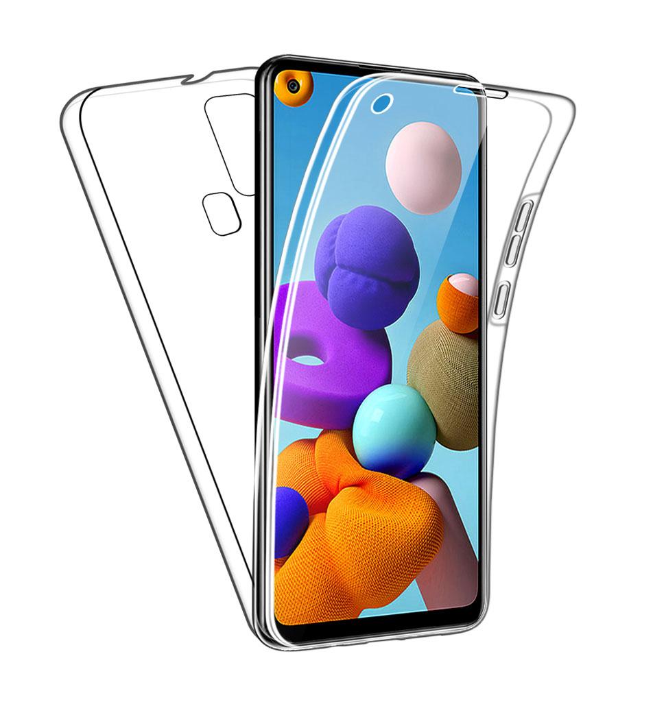 Coque Silicone 360 pour Samsung A21S Etui de Protection integrale Little Boutik®