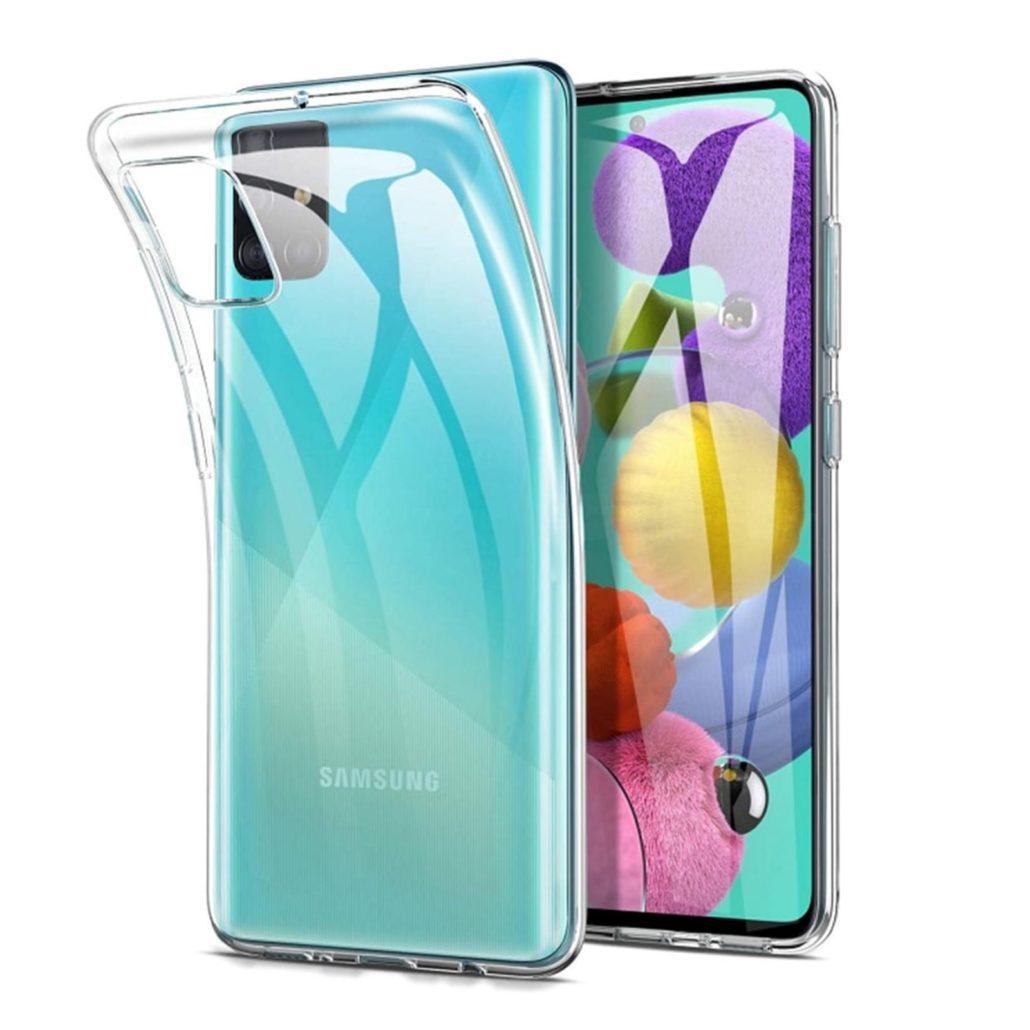 Coque Silicone pour Samsung A41 Etui de Protection Transparent Antichoc Little Boutik®