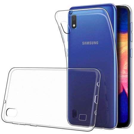 Coque Silicone pour Samsung A10 Etui de Protection Transparent Antichoc Little Boutik®