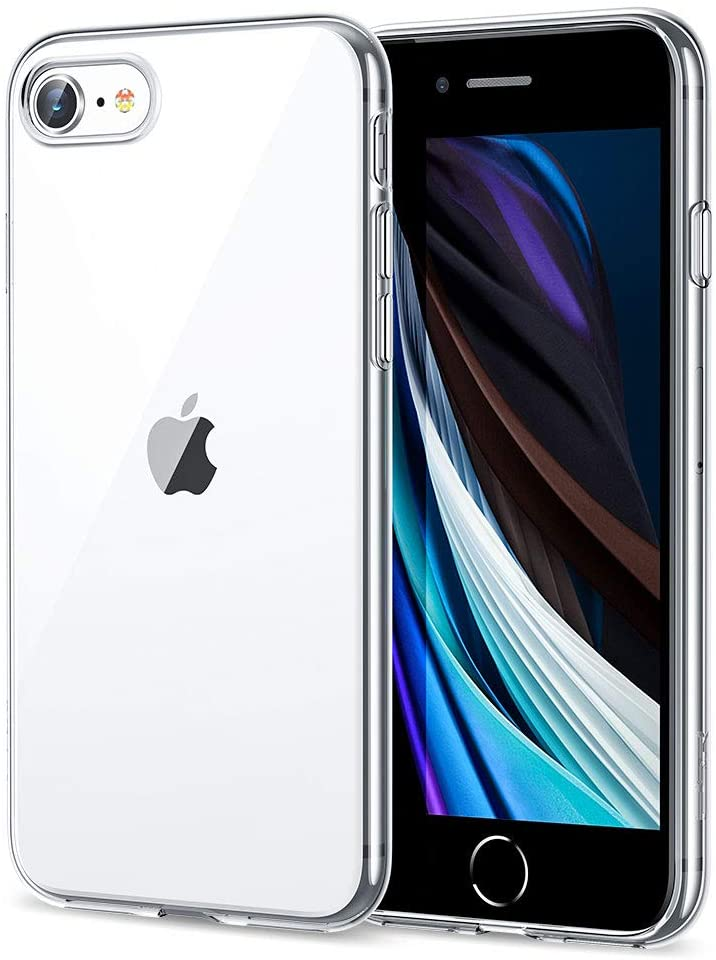 Coque Silicone pour iPhone 7/8 Etui de Protection Transparent Antichoc Little Boutik®