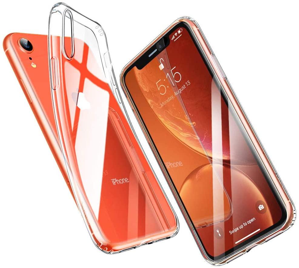 Coque Silicone pour iPhone Xr Etui de Protection Transparent Antichoc Little Boutik®