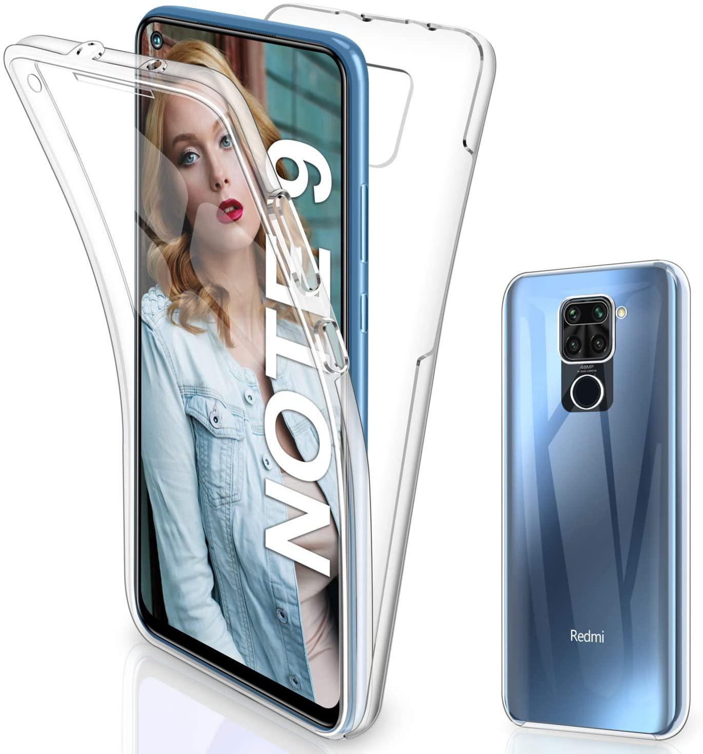 Coque Integrale Silicone Pour Xiaomi Redmi Note 9S / 9Pro Protection 360 Little Boutik®