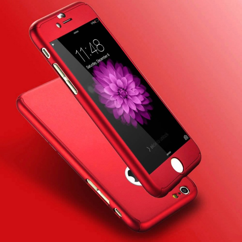 coque iphone 8 rouge 360