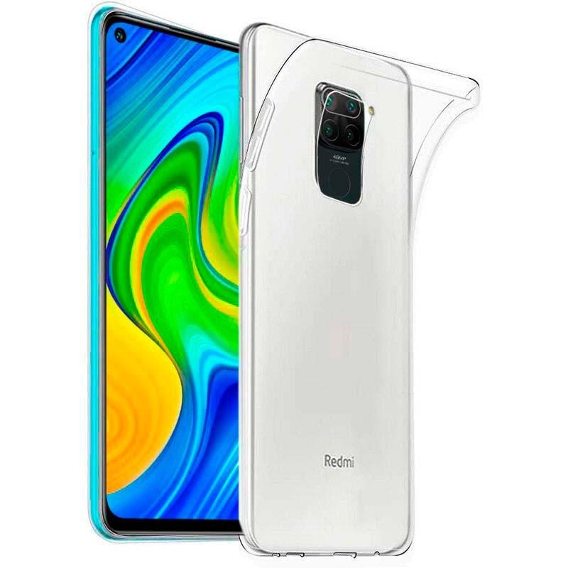 Coque Silicone Transparente Pour Xiaomi Redmi Note 9S / 9 Pro Haute protection Little Boutik®