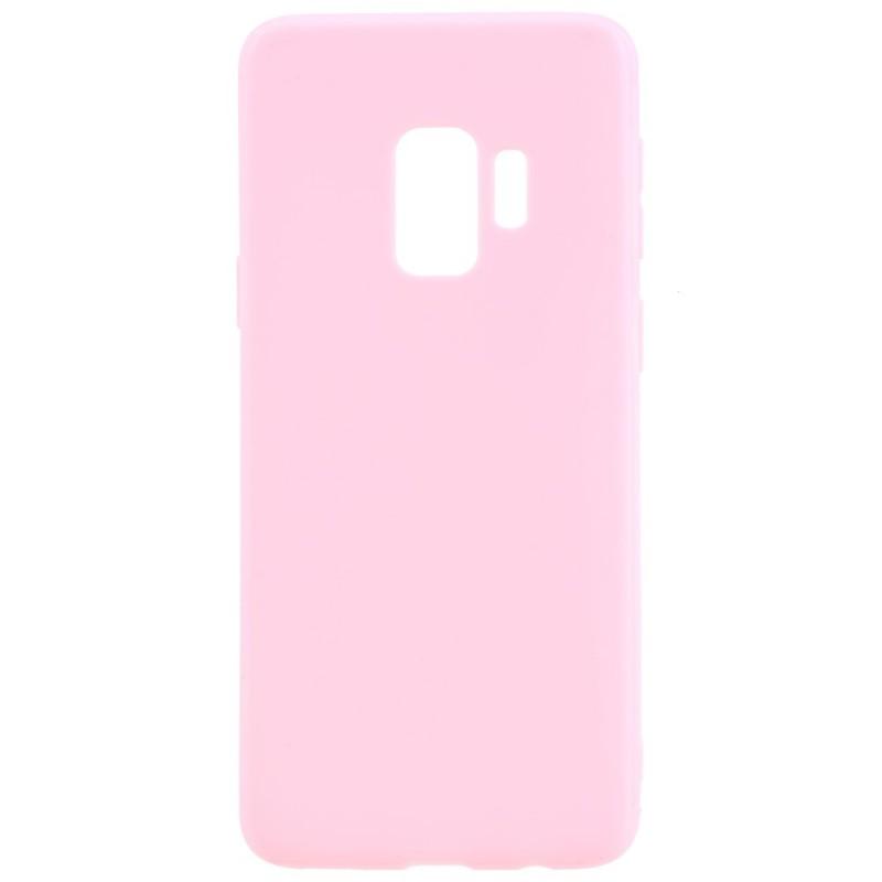 Coque Silicone Pour Samsung S9 Plus Couleur Rose Haute Protection Little Boutik®