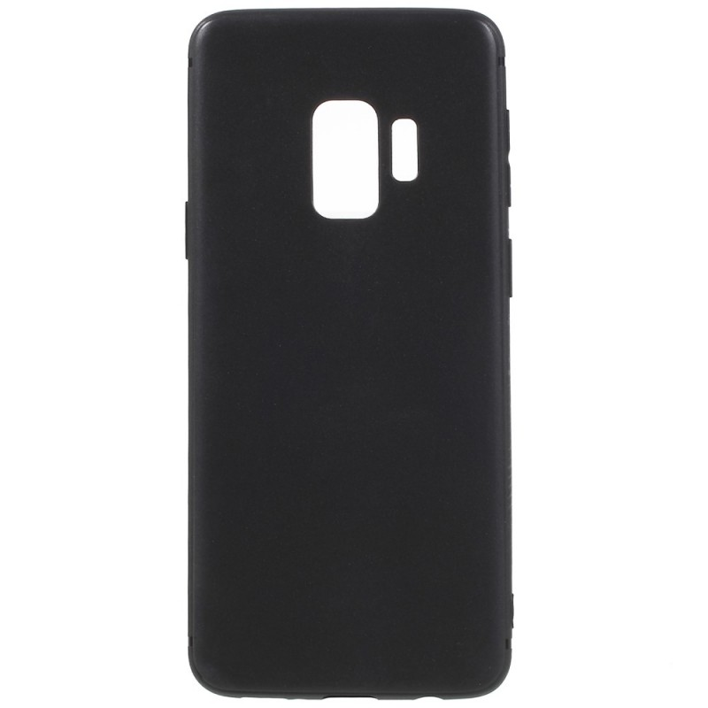 Coque Silicone Pour Samsung S9 Plus Couleur Noir Haute Protection Little Boutik®