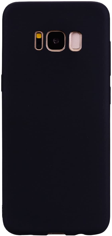 Coque Silicone Pour Samsung S8 Plus Couleur Noir Haute Protection Little Boutik®