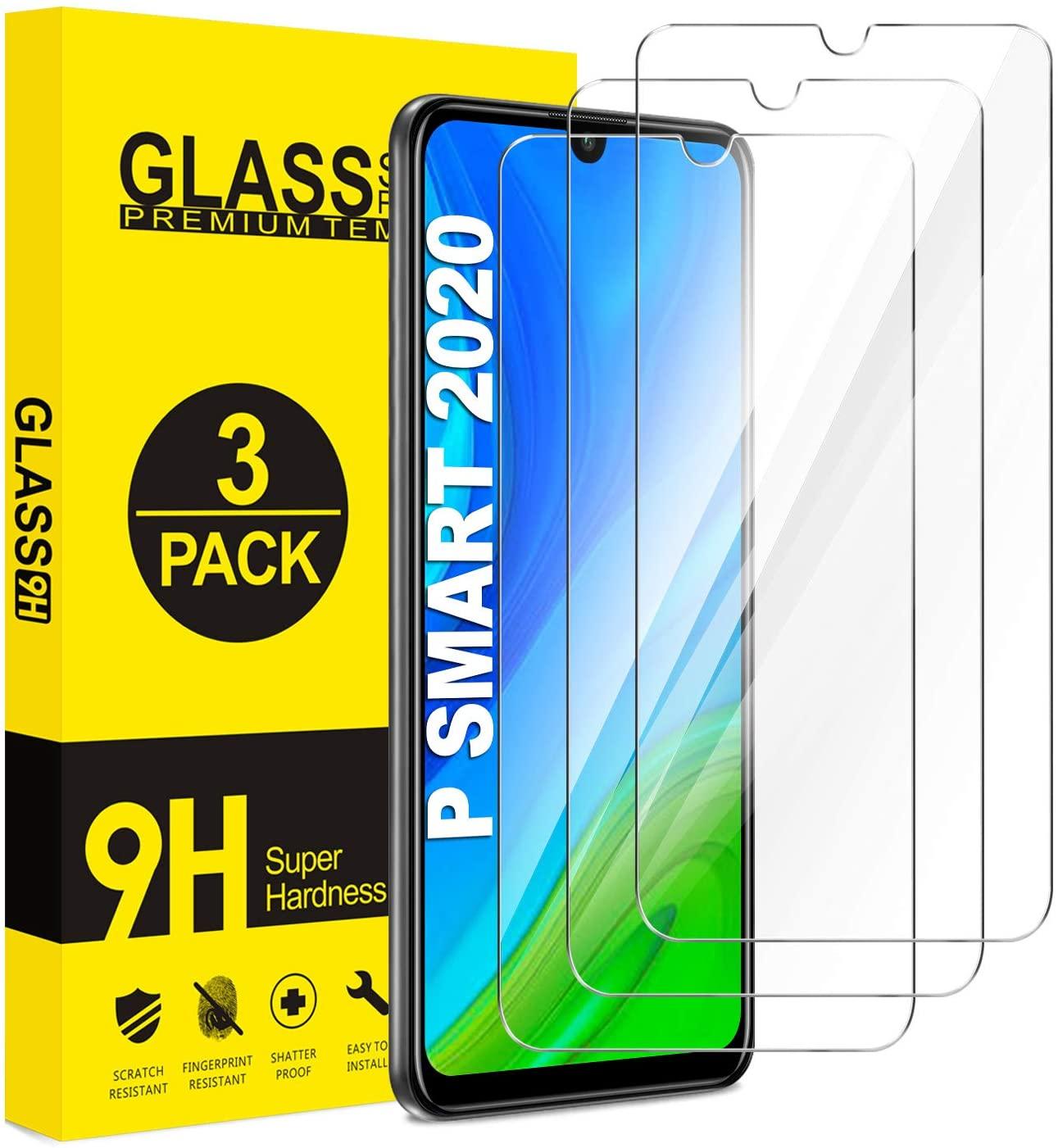 Verres Trempe Haute Resistance Pour Huawei PSMART 2020 Pack X3 Protection Ecran Little Boutik®