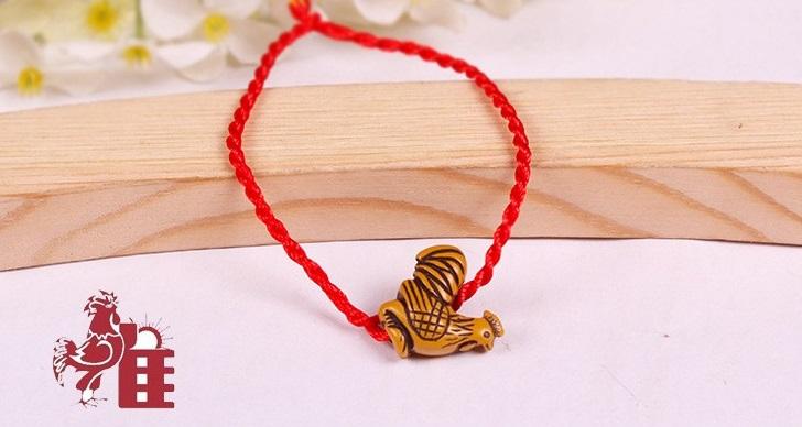 Bracelet porte bonheur coq bijoux bracelet magie d 39 asie for Porte zen fuji