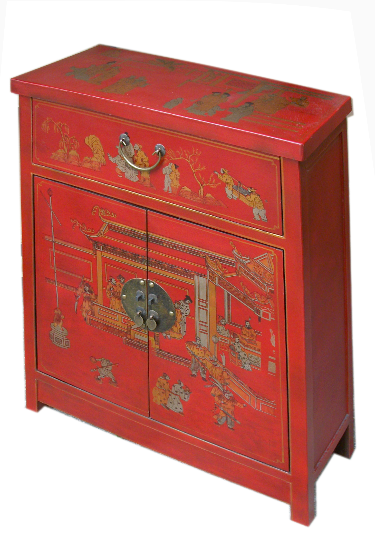 meuble de rangement chinois rouge collections collection cit xian magie d 39 asie. Black Bedroom Furniture Sets. Home Design Ideas