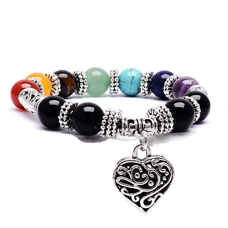 1.Bracelet-7-Chakra-Gué-rison-santé-quilibre-Perles-Bracelet-Coeur-yoga-méditation-bijoux-Reiki