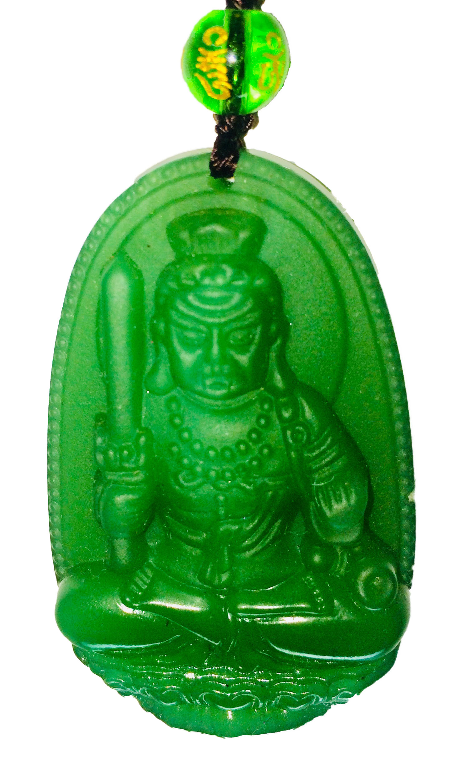Pendentif-protection-jade-magie-arts-martiaux-ninja-shugendo