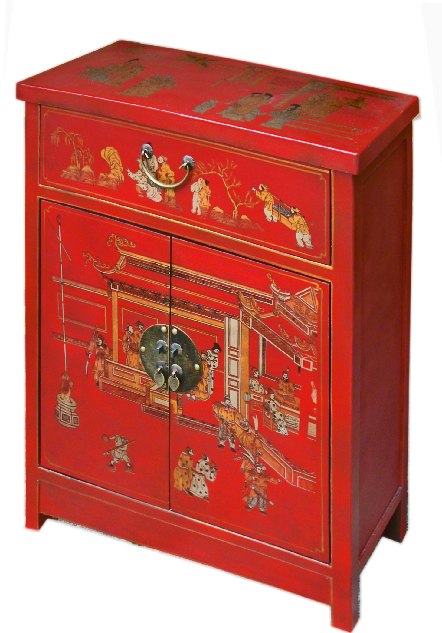 Meuble Chinois Rouge Collection Ming Promos Magie D Asie
