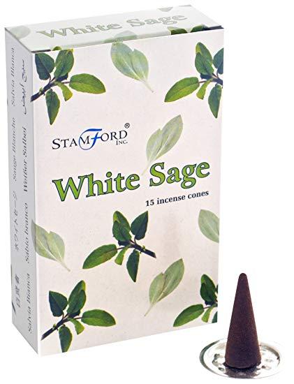 encens stamford sauge blanche