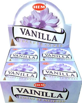 Encens vanille cones bio pur magie parfum