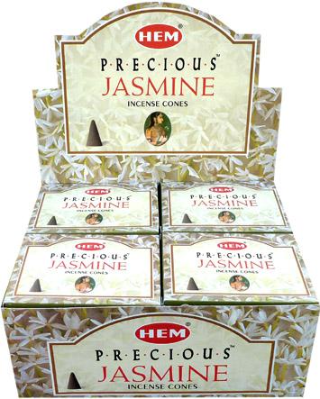 Encens jasmin naturel en cones