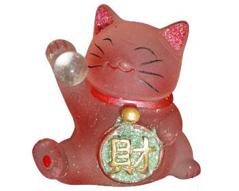 chat de la richesse et de la prosp rit porte bonheur fs d co d 39 asie chats du bonheur. Black Bedroom Furniture Sets. Home Design Ideas
