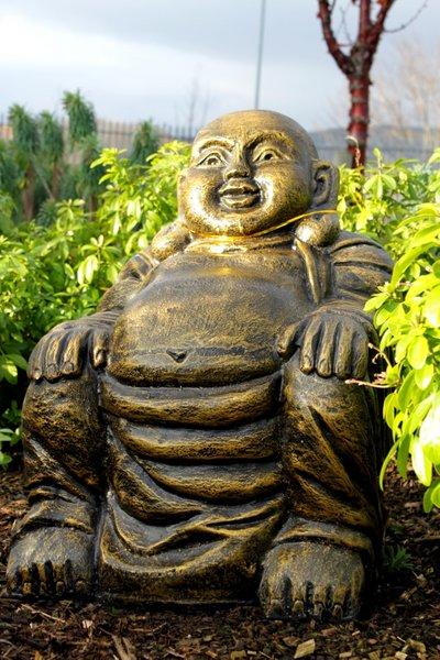bouddha chinois de jardin jardin magie d 39 asie. Black Bedroom Furniture Sets. Home Design Ideas