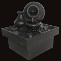 Fontaine feng shui : cruche d'abondance