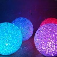 Veilleuse Cristal LED Diamètre 8 cm