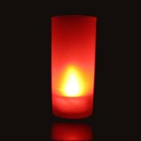 Bougie Photophore à led couleur rouge AVEC fonction Souffler
