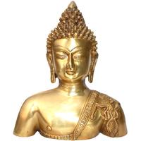 Buste de Bouddha en bronze