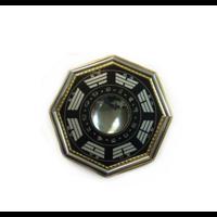 Grand Pa Kua  concave noir  20 cm